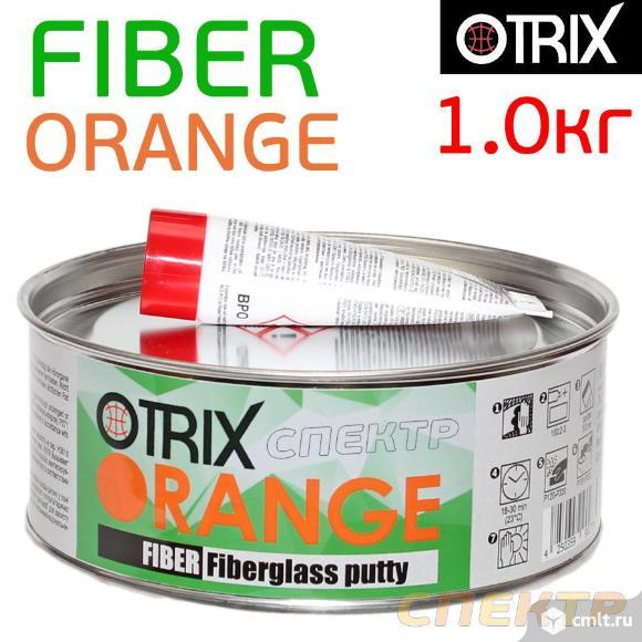 Шпатлевка со стекловолокном OTRIX Orange (1,0кг). Фото 1.