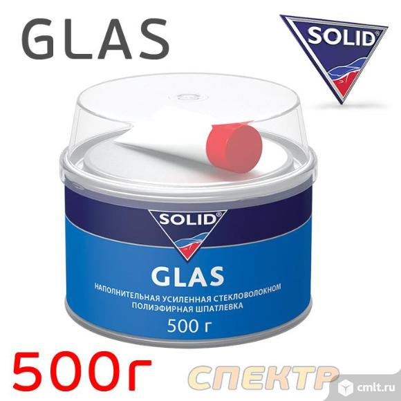 Шпатлевка со стекловолокном SOLID Glass (0,5кг). Фото 1.