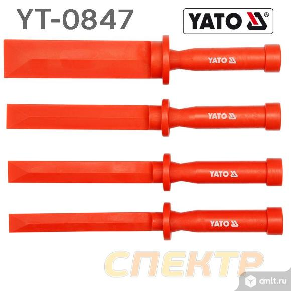 Набор скребков YATO YT-0847 (4пр) 19,22,25,38мм. Фото 1.