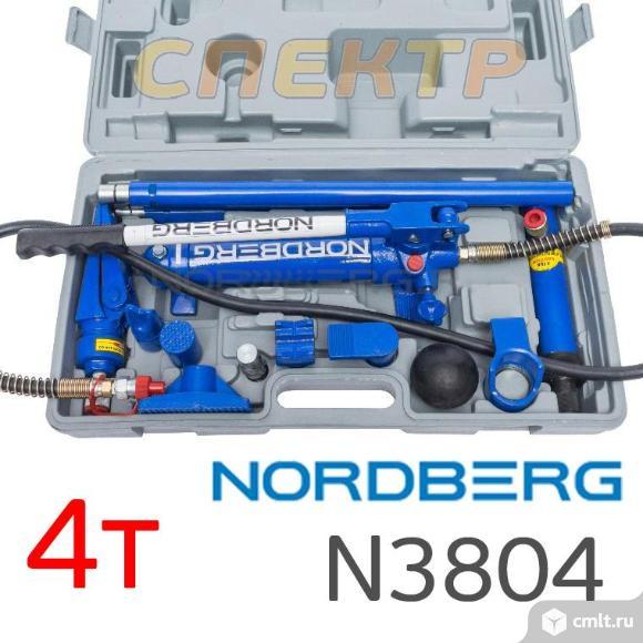 Растяжка рихтовочная NORDBERG N3804 набор 4т. Фото 1.