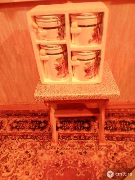 Набор банок для сыпучих. Фото 1.