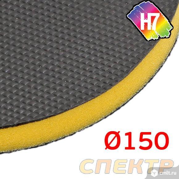Круг-автоскраб для очистки кузова H7 на липучке. Фото 3.