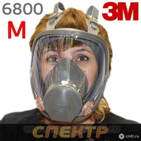 Полнолицевая маска 3M™ серии 6000 размер М. Фото 1.