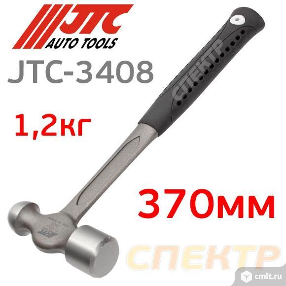 Молоток кузовной с круглым бойком JTC-3408 (370мм). Фото 1.