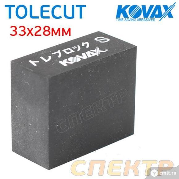 Шлифблок резиновый KOVAX под клейкий лист TOLECUT. Фото 1.
