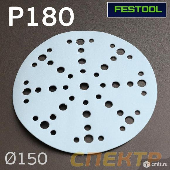 Шлифкруг Festool Granat ф150 (P180) на липучке. Фото 1.