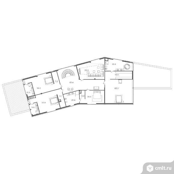 Дом 931,4 кв.м. Фото 5.