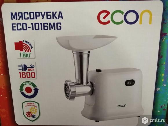 Новая гарантия мясорубка Econ eco-1011mg. Фото 1.