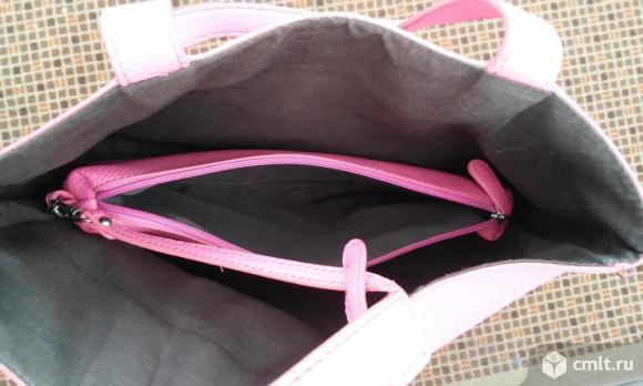 Сумки черная и розовая. Фото 5.