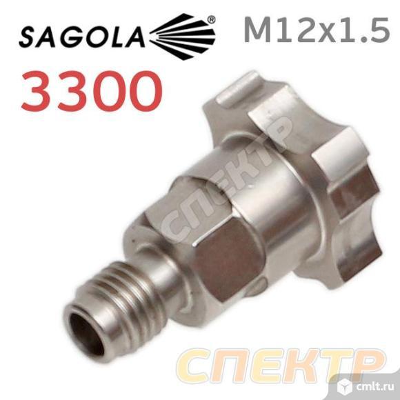 Переходник для системы PPS для Sagola 3300 металл. Фото 1.