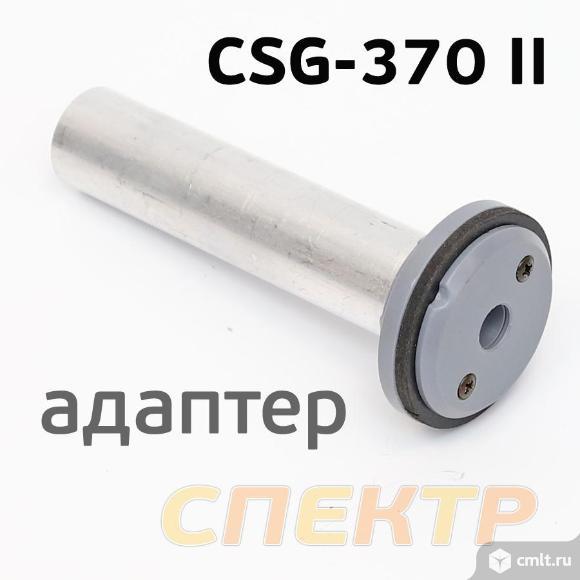 Пистолет для герметика пневмо ANI CSG-370 II BLACK. Фото 3.