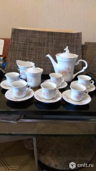 Кофейный сервиз. Фото 1.
