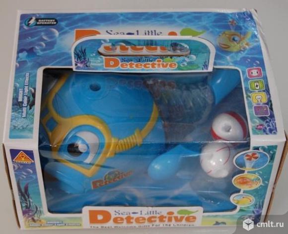 """Игрушка """"Рыбка-Detective"""" музыкальный + светится. Держит шарик на воздухе. Фото 2."""