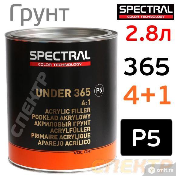 Грунт Spectral UNDER 365 P5 4+1 (2,8л) черный. Фото 1.