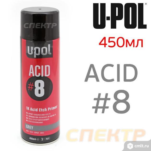 Грунт-спрей U-POL ACID#8 (500мл) протравливающий. Фото 1.