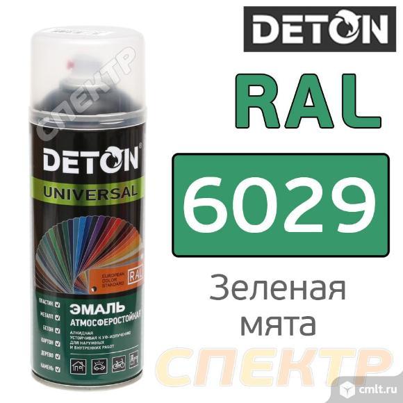 Краска для металла RAL 6029 Зеленая мята. Фото 1.