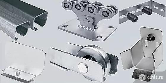 Продам комплект комплектации для изготовления откатных ворот консольного типа. Фото 1.