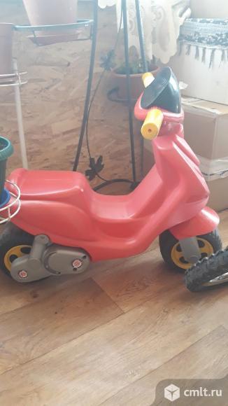 Детский мотоцикл. Фото 7.