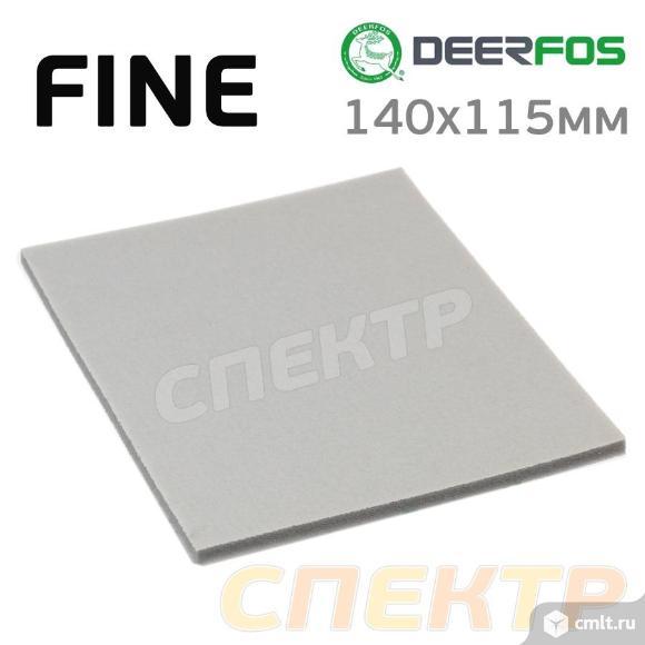 Губка абразивная полиуретановая Deerfos MICROFINE. Фото 1.