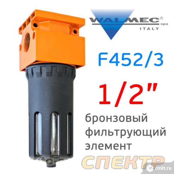 """Фильтр-влагоотделитель (1/2"""") Walcom F452/3. Фото 1."""