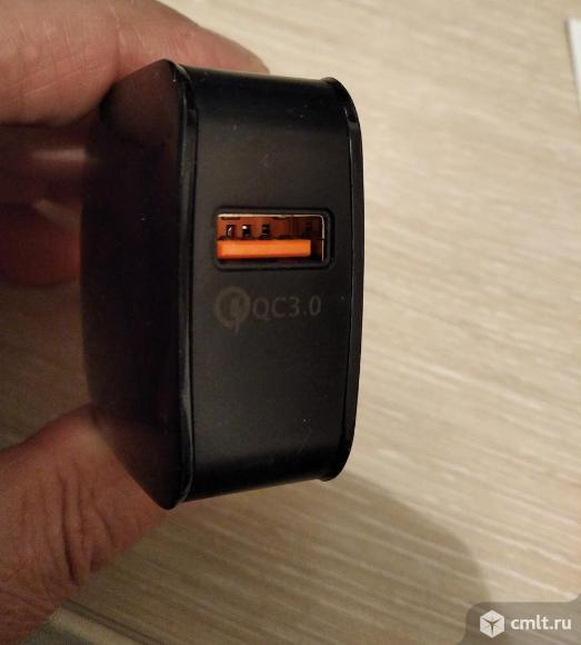 Быстрая зарядка с поддержкой Quick Charge 3.0. Фото 3.