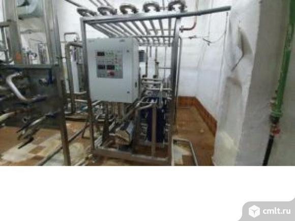 Пастеризационно-охладительная установка, пр-ть до 5000 л/ч, пр-во Экомаш. Фото 1.
