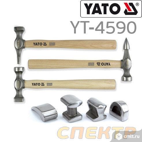 Набор рихтовочных молотков YATO YT-4590 (7пр). Фото 1.