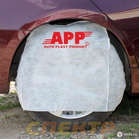 Накидка на колесо APP (1шт) многоразовая. Фото 1.