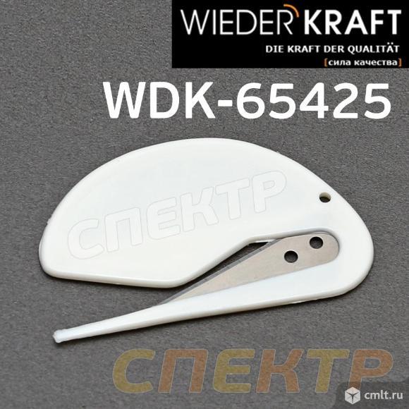 Нож для укрывного материала WDK-65425 (75х45мм). Фото 1.