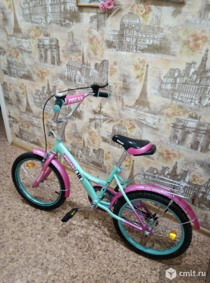 Детский велосипед для девочки. Фото 1.