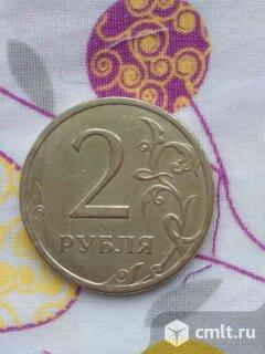 Монета 2 рубля 2008 года спмд. Фото 2.