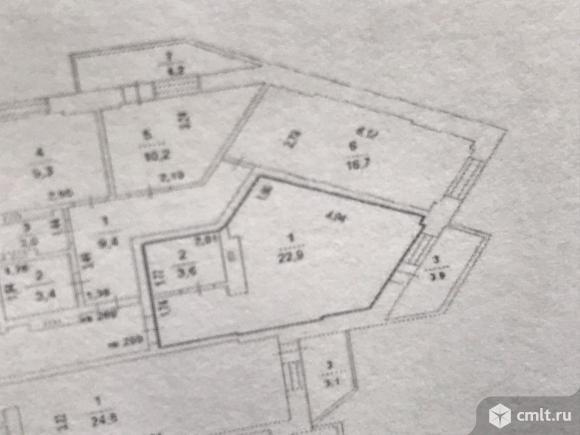 1-комнатная квартира 26,5 кв.м. Фото 13.