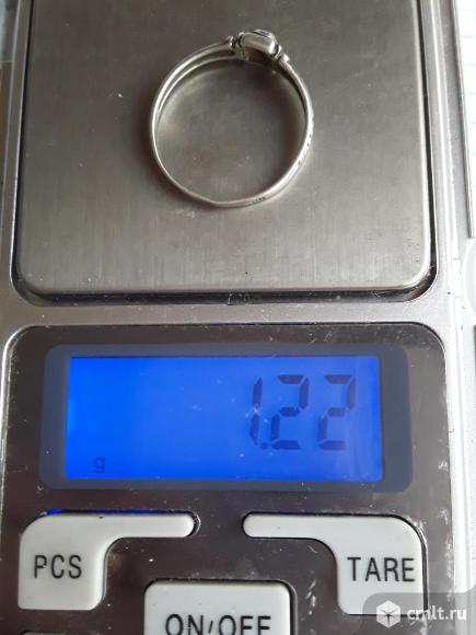 Кольцо Спаси Сохрани. Серебро 925 (1,2гр) Размер 18. Фото 6.