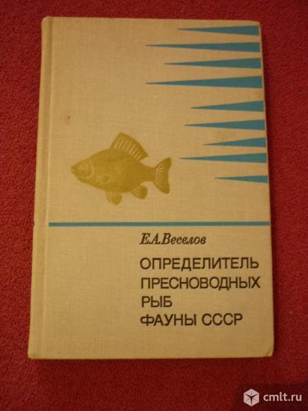 Определитель пресноводных рыб. Фото 1.