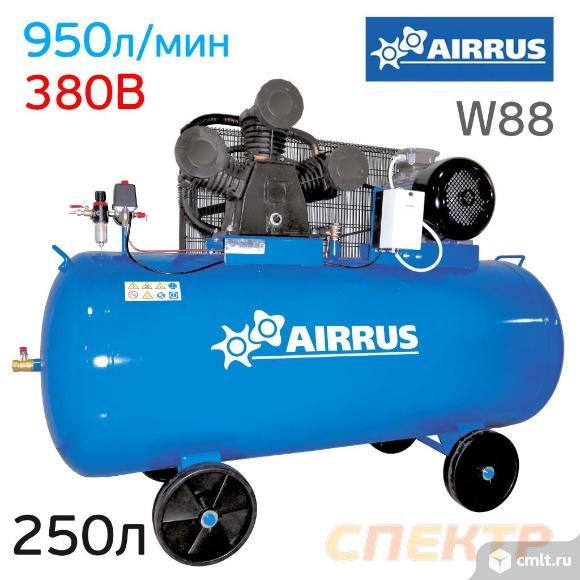 Компрессор AIRRUS CE 250-W88 380В, 950л/мин, 250л. Фото 1.