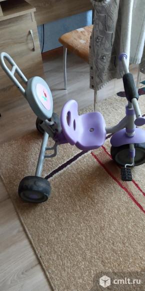 Велосипед трёх колёсный детский. Фото 1.