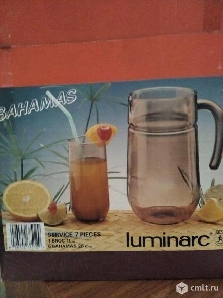 Питьевой набор Luminarc. Фото 1.