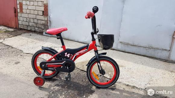 Велосипед детский  Nameless CROSS 14''. Фото 1.