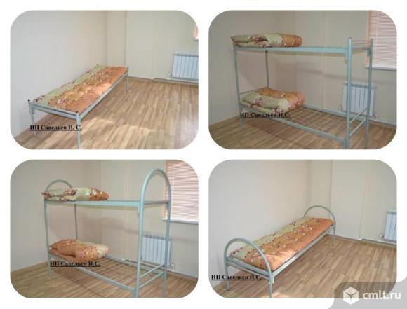 Кровати металлические. Фото 1.