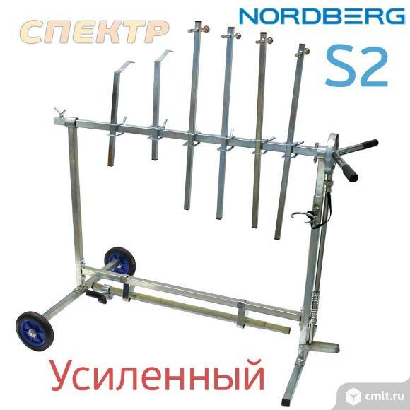 Стол окрасочный поворотный Nordberg S2 вращающийся. Фото 1.