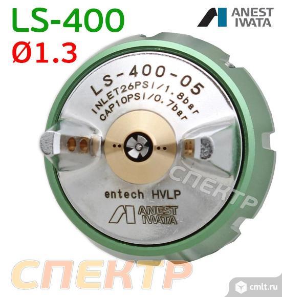 Краскопульт IWATA LS-400-ETS (1,3мм) + манометр. Фото 2.