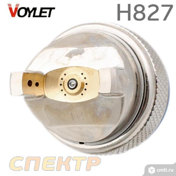 Краскопульт универсальный VOYLET H-827 HVLP 1,4мм. Фото 3.