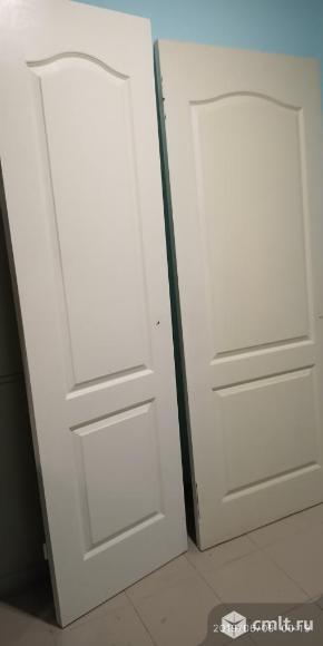 Двери межкомнатные 2шт 2000на800. Фото 1.