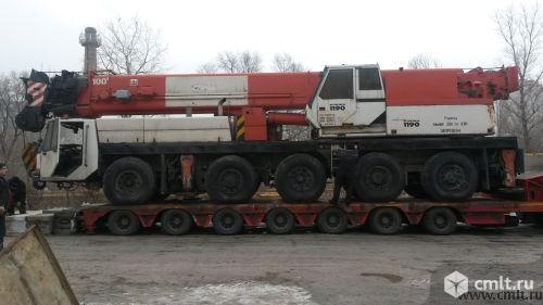 Услуги автокрана грузоподъемностью до 100 т