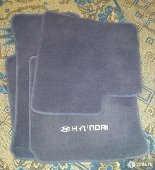 Коврики в салон Hyundai Getz ворсовые. Фото 1.
