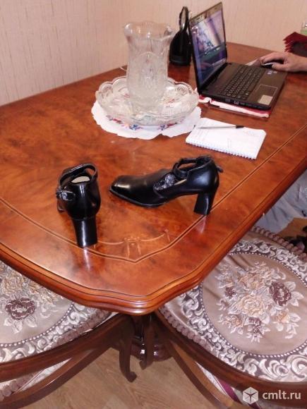 Туфли женские кожаные. Фото 2.