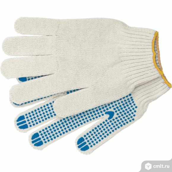 Продам перчатки трикотажные с точечным полимерным покрытием. Фото 1.