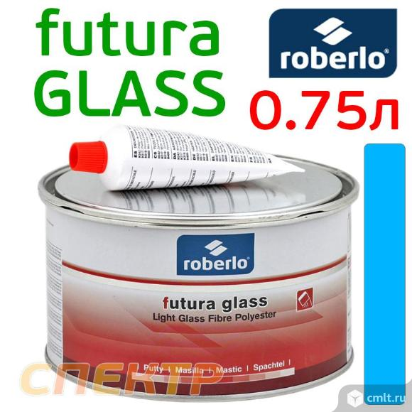 Шпатлевка со стекловолокном ROBERLO Futura Glass. Фото 1.