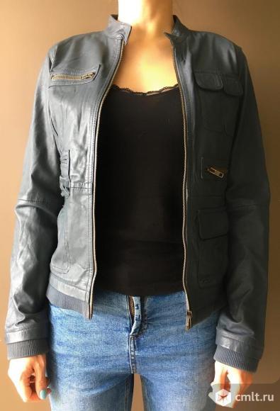 Продам кожаную куртку Promod. Фото 1.