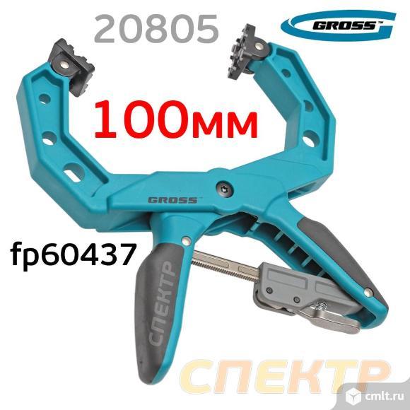 Струбцина GROSS 20805 (100мм) большая fp60437. Фото 1.